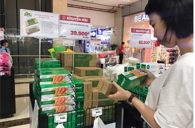 Sản phẩm AnEco tại một siêu thị