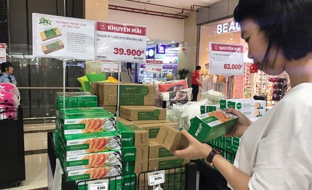 AnBio hỗ trợ phân phối sản phẩm sinh học phân hủy hoàn toàn tại các chuỗi siêu thị