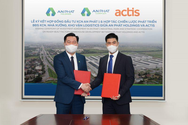 Quỹ đầu tư Actis và An Phát Holdings kí kết thỏa thuận hợp tác phát triển trong lĩnh vực