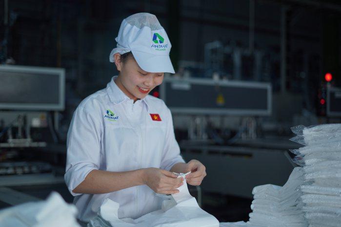 Niềm vui lao động tại Công ty CP Nhựa An Phát Xanh